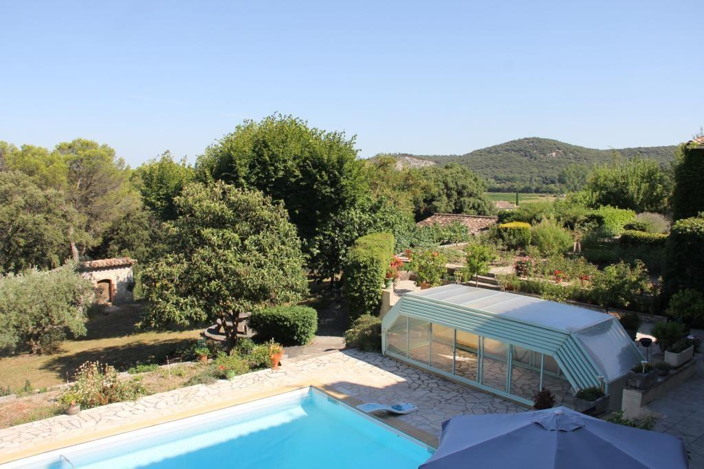 proprièté parc piscine Anduze Corinne Ponce Immobilier Nimes Gard (30)