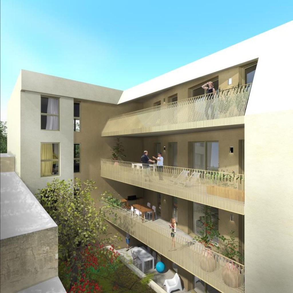 programme neuf avenue jean jaures Nimes appartement type 3 type 4 terrasse garage (3)