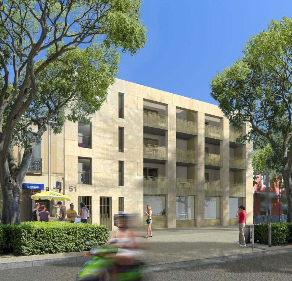 programme neuf avenue jean jaures Nimes appartement type 3 type 4 terrasse garage (1)