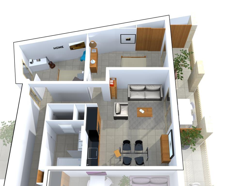 programme neuf avenue jean jaures Nimes appartement type 3 type 4 terrasse garage (4)