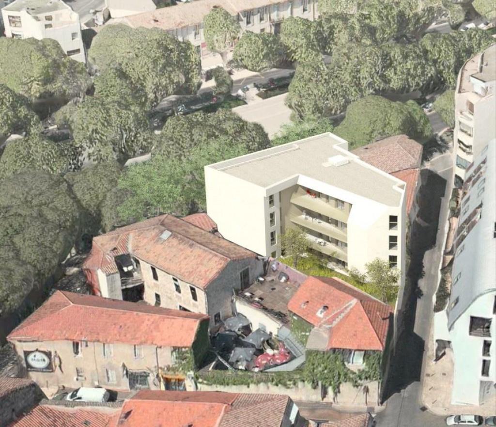programme neuf avenue jean jaures Nimes appartement type 3 type 4 terrasse garage (7)