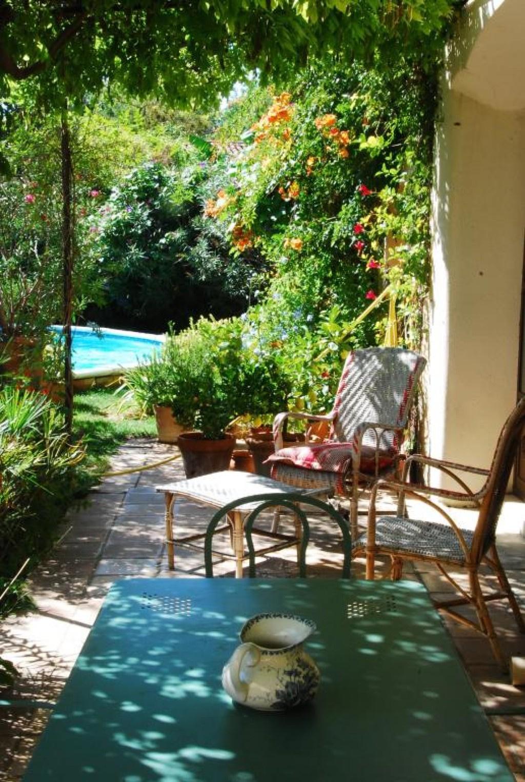 maison bourgroise jardin village Gard agence Corinne Ponce Nimes (49)
